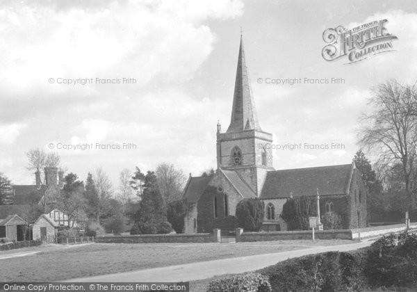 Brockham, Christ Church 1931