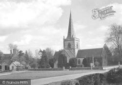 Brockham, Christ Church 1931