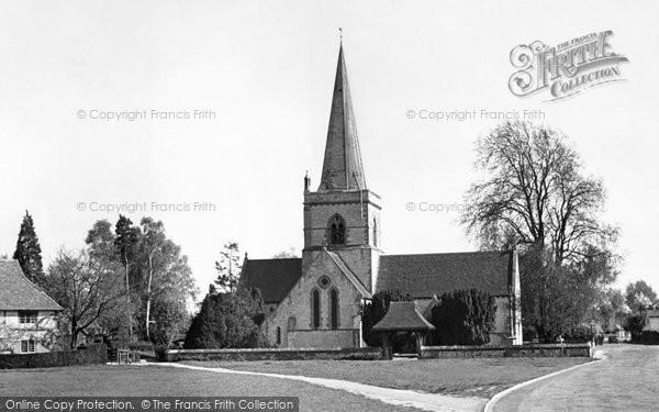 Brockham, Christ Church 1949