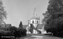 Brockham, Christ Church 1958