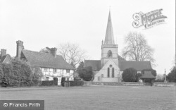 Brockham, Christ Church 1958