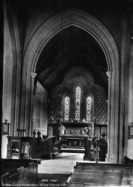 Brockham, Church Interior 1886