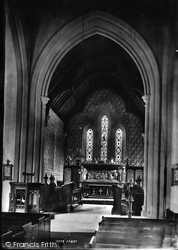 Brockham, Church Interior 1886