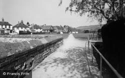 Brockham, Church Walk 1958