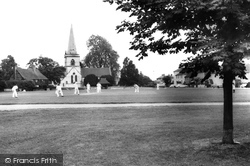 Brockham, Cricket On The Green 1964