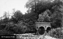 Brockham, Footbridge c.1863
