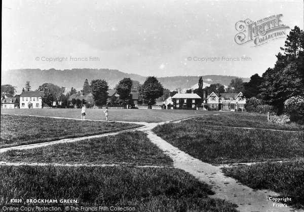 Brockham, Green 1930