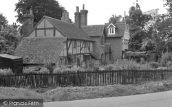 Brockham, Green, Old Houses 1949