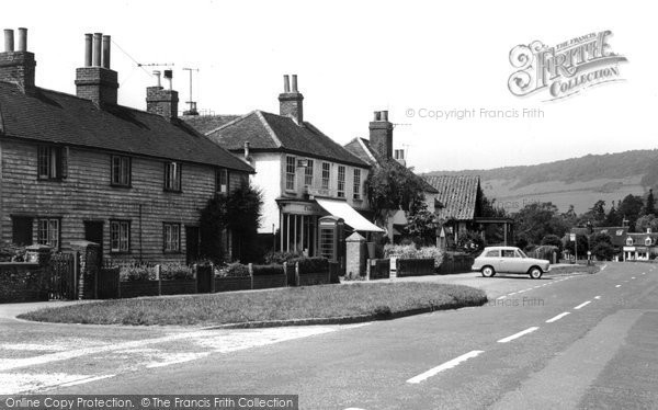 Brockham, Main Road 1964