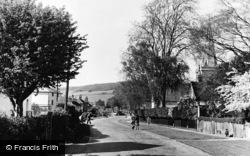 Brockham, Middle Street 1949