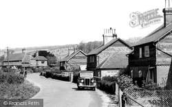 Brockham, Old School Lane 1958