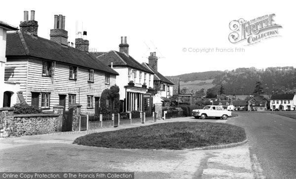 Brockham, Post Office Corner 1958