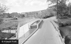 Brockham, The Bridge And Borough 1958