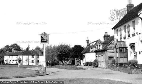 Brockham, The Green 1958