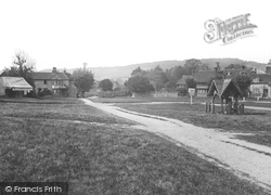 Brockham, The Green c.1905