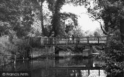 Brockham, The River Mole 1949