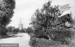 Brockham, The Village 1904