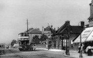 Brockley, Library And Crofton Park Station c.1910