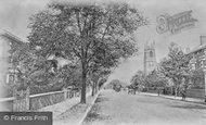 Brockley, Wickham Road c.1900
