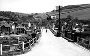 Brockweir, the Bridge c1955