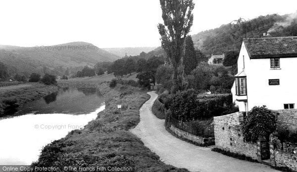 Brockweir, the River Wye c1960