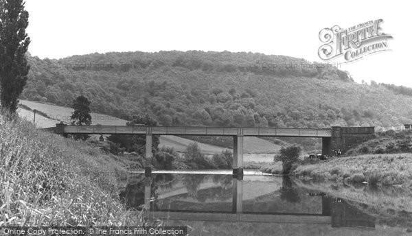 Brockweir, the River Wye c1955