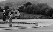 Brockworth, Coopers Hill Filling Station c.1955