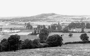 Brockworth, from Castle Hill c1955