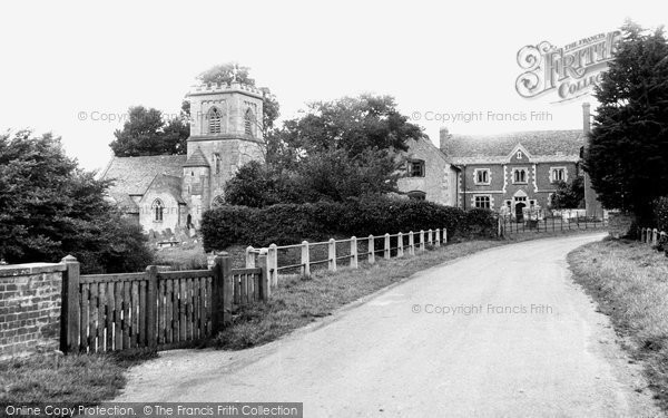 Photo of Brockworth, St George's Church And Brockworth Court c.1950