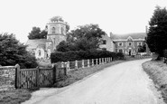 Brockworth, the Church and Brockworth Court c1960
