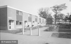 Essex Walk, Priory Estate 1966, Broken Cross