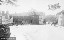 Broken Cross, Farm Machinery In Village 1903