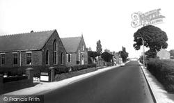 Knutsford Road And Methodist Church 1966, Broken Cross