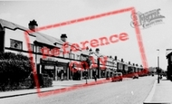 Bromborough, Allport Lane c.1955