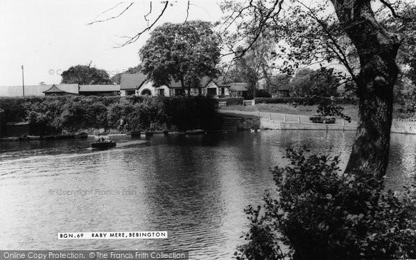Bromborough, Raby Mere c.1965