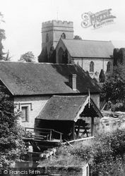 Bromfield, Church Of St Mary The Virgin And Mill 1904