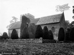 Bromfield, Church Of St Mary The Virgin From The South East 1924