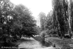 Bromfield, The Church From Bridge 1892