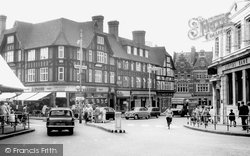 Bromley, Market Square c.1965