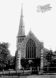 Bromley, Shortlands Church 1899