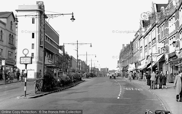Photo of bromley the broadway high street 1948 for The bromley