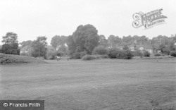 Bromley, The Golf Course 1956