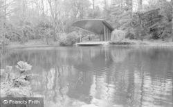 Bromley, The Lake 1967