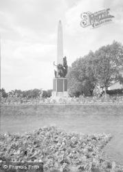 Bromley, The Memorial 1957