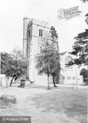 Bromley, The Parish Church c.1960
