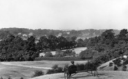 Bromley, View From Recreation Ground 1898