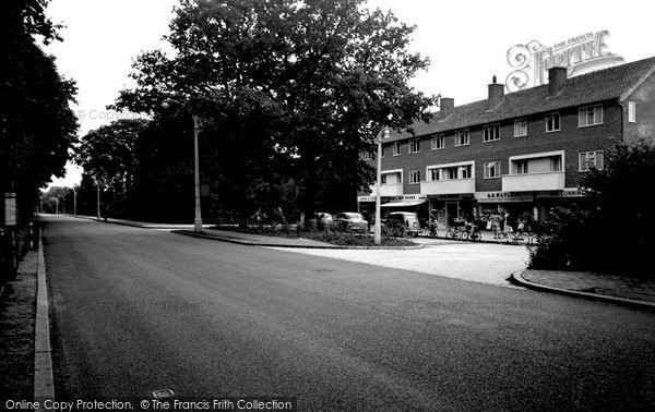 Photo of Bromley, Westmoreland Road 1956
