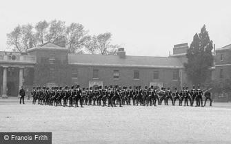 Brompton, Soldiers, R E Barracks 1894