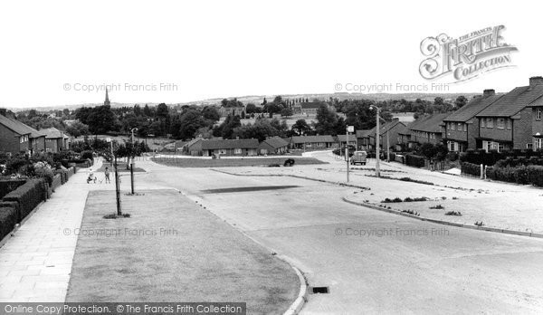 Bromsgrove, Charford Estate c.1960