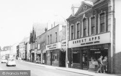 Bromsgrove, Ernest Apps, High Street c.1965
